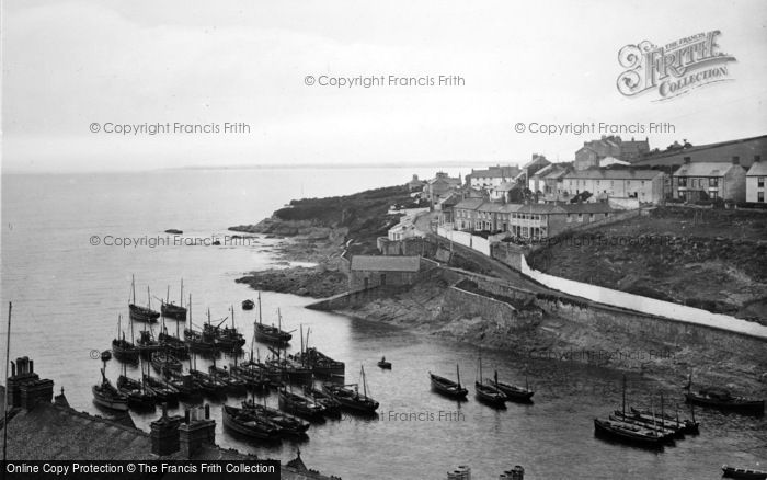 Photo of Porthleven, The Outer Harbour 1928