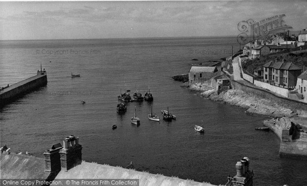 Photo of Porthleven, The Outer Harbour c.1955