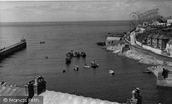 Porthleven, The Outer Harbour c.1955