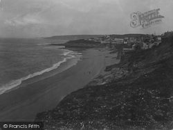 Porthleven, The Sands And Cliffs 1931