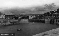 Porthleven, View From The Breakwater c.1955