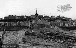 Porthleven, View From The Jetty c.1955