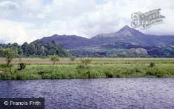 Porthmadog, Cnicht Across Afon Glaslyn c.1990