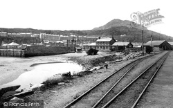Porthmadog, From Embankment 1889