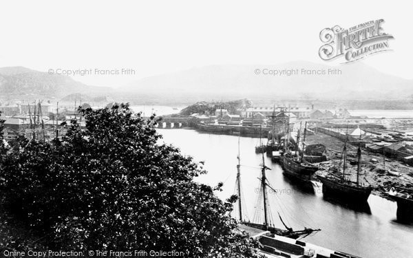 Old historical nostalgic pictures of borth y gest in for 50 marine terrace