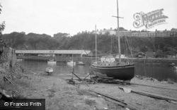 Porthmadog, The Harbour 1966