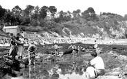 Porthpean, Beach c1955