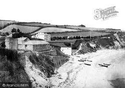 Porthpean, The Beach c.1884
