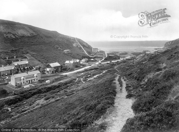 Photo of Porthtowan, 1925