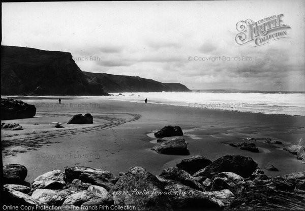 Photo of Porthtowan, Beach 1898