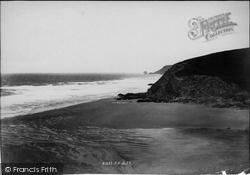 Porthtowan, Beach 1898
