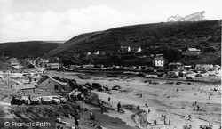 Porthtowan, Beach c.1955