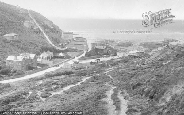 Photo of Porthtowan, Beach Road 1925