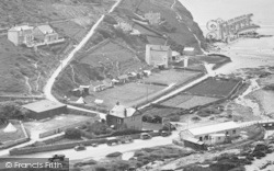 Porthtowan, Beach Roads And Wheal Lushington Engine House 1925