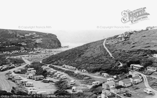 Photo of Porthtowan, c.1955