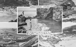 Porthtowan, Composite c.1955