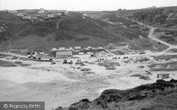 Porthtowan, East Cliff c.1955