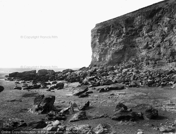 Photo of Porthtowan, Eastern Cliff 1925