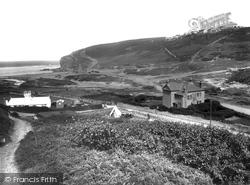 Porthtowan, Eastern Cliff 1935