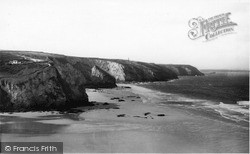 Porthtowan, Sands And Coast c.1955
