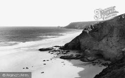 Porthtowan, Sands And Coast c.1955