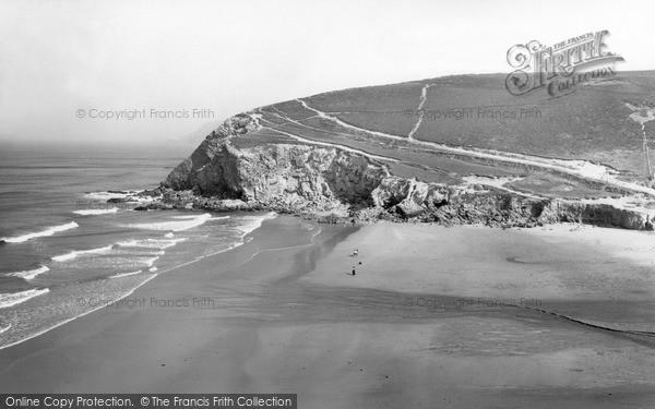 Photo of Porthtowan, Sands c.1955