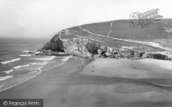 Porthtowan, Sands c.1955