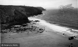 Porthtowan, The Coast c.1955