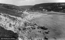 Porthtowan, The Sands 1925