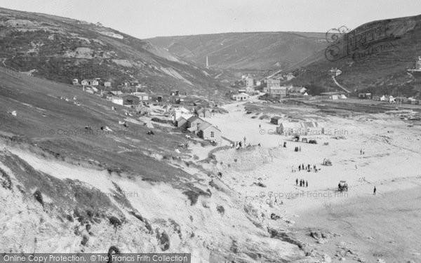 Photo of Porthtowan, The Sands 1925
