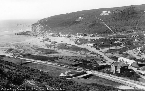 Photo of Porthtowan, The Sands And Eastern Hill 1925