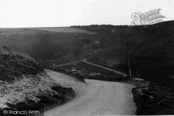 Porthtowan, Valley c.1955