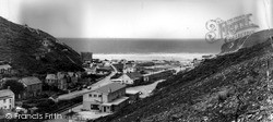 Porthtowan, Village And Beach c.1955