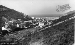 Porthtowan, Village c.1955