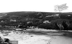 Porthtowan, West Cliff c.1955