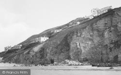 Porthtowan, West Cliff, Hotels 1925