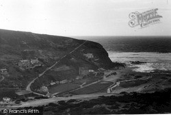 Porthtowan, West Hill c.1955
