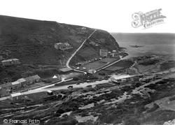 Porthtowan, Western Cliff 1925