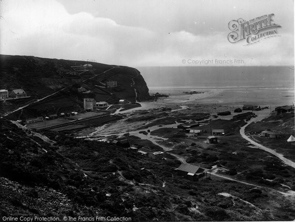 Photo of Porthtowan, Western Hill 1925