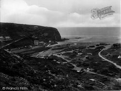 Porthtowan, Western Hill 1925
