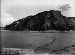Porthtowan, Western Point 1925