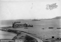 Portland, Harbour 1904