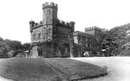 Deudraeth, the Castle 1933