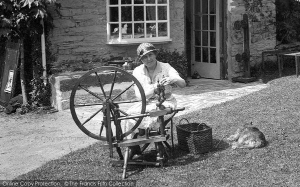 Portmeirion, Spinning Wheel 1933
