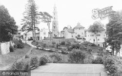 Portmeirion, Tennis Court And Village 1935