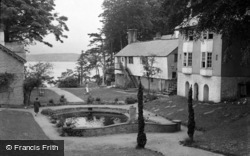 Portmeirion, The Gardens c.1947