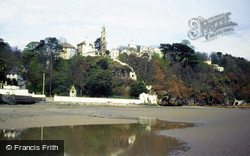 Portmeirion, The Tower And Bell Tower From The Dwyryd c.1987