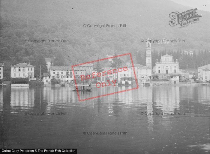 Photo of Porto Ceresio, Chiesa Di Sant'ambrogio c.1935