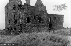 Dunskey Castle c.1955, Portpatrick