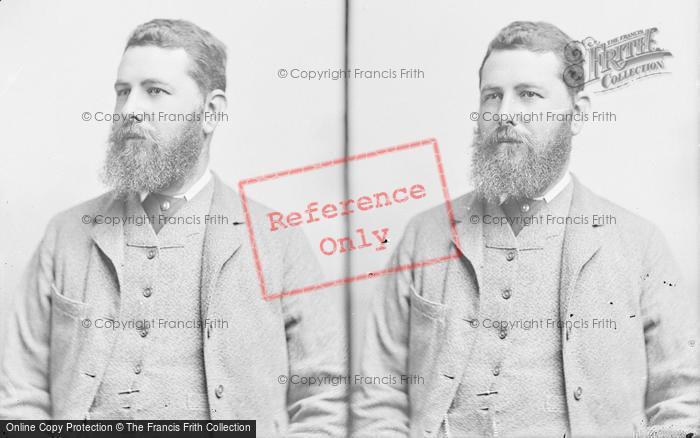 Photo of Portraiture, A Bearded Victorian Gentleman c.1895
